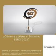 Sustentarse_¿Cómo se obtiene el Distintivo ESR® 2021